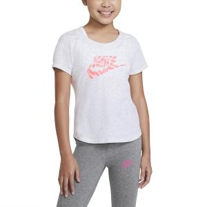 Top y Camisetas Niña Nike Scoop Sportswear Camiseta Nina  Birch Heather DC7347051