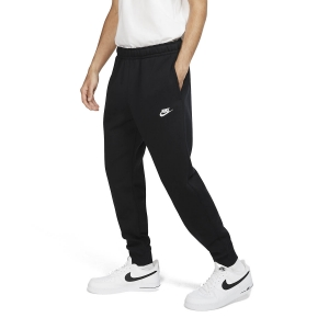 Pantalones y Tights Tenis Hombre Nike Sportswear Club Pantalones  Black/White BV2671010