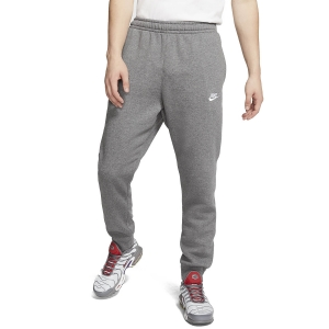 Pantalones y Tights Tenis Hombre Nike Sportswear Club Pantalones  Charcoal Heather/Anthracite/White BV2671071