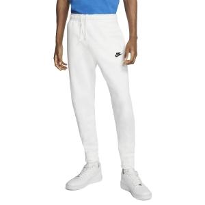 Men's Tennis Pants and Tights Nike Sportswear Club Pants  White/Black BV2671100