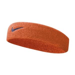 Tennis Headbands Nike Swoosh Headband  Team Orange/College Navy N.000.1544.804.OS