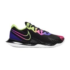 Nike Air Zoom Vapor Cage 4 HC - Black/Liquid Lime/Fierce Purple