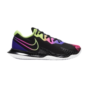 Women`s Tennis Shoes Nike Air Zoom Vapor Cage 4 HC  Black/Liquid Lime/Fierce Purple CD0431002