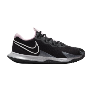 Calzado Tenis Mujer Nike Air Zoom Vapor Cage 4 HC  Black/White/Pink Foam/Dark Smoke Grey CD0431001