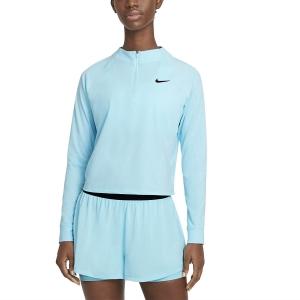 Women's Tennis Shirts and Hoodies Nike Victory DriFIT Shirt  Copa/Black CV4697482