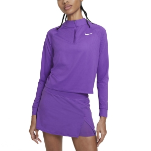 Maglie e Felpe Tennis Donna Nike Victory DriFIT Maglia  Wild Berry/White CV4697528