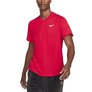 Maglietta Tennis Uomo Nike Victory Maglietta  University Red/White CV2982657