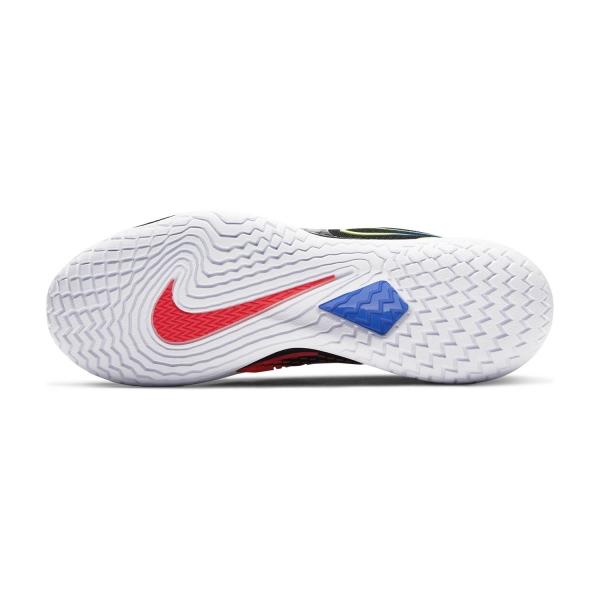 Nike Air Zoom Vapor Cage 4 HC - Black/Volt/Laser Crimson/Racer Blue