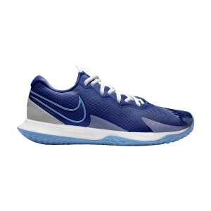 Calzado Tenis Hombre Nike Air Zoom Vapor Cage 4 HC  Deep Royal Blue/Coast/White CD0424400
