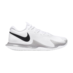 Nike Air Zoom Vapor Cage 4 HC - White/Black/Grey Fog
