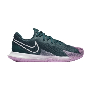 Calzado Tenis Hombre Nike Air Zoom Vapor Cage 4 HC  Dark Atomic Teal/White/Beyond Pink CD0424300