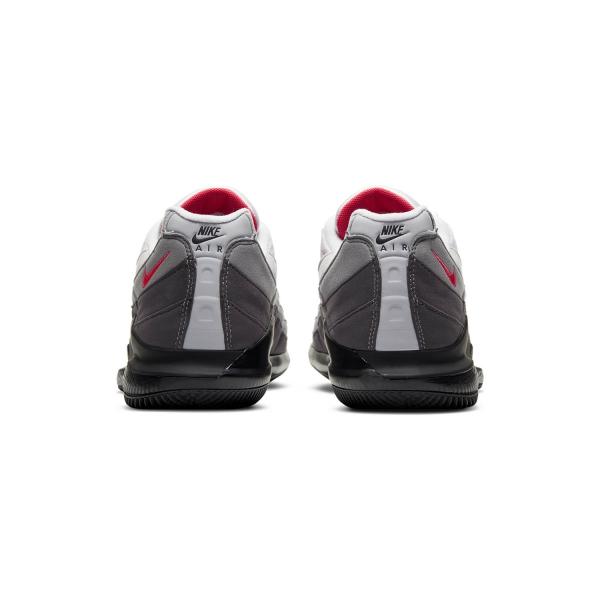 Nike Zoom Vapor X AM 95 - White/Solar Red/Neutral Grey/Medium Grey