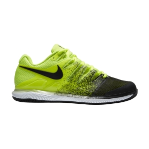Men`s Tennis Shoes Nike Air Zoom Vapor X HC  Volt/Black/White AA8030702
