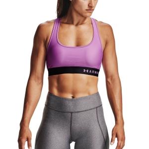 Intimo de Tenis Mujer Under Armour Mid Crossback Sujetador Deportivo  Exotic Bloom/Black 13072000568