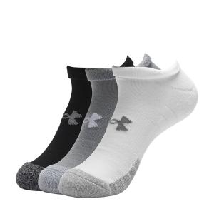 Calcetines de Tenis Under Armour HeatGear No Show x 3 Calcetines  Grey/Steel/White 13467550035