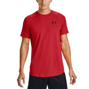 Camisetas de Tenis Hombre Under Armour MK1 Camiseta  Versa Red/Black 13234150608