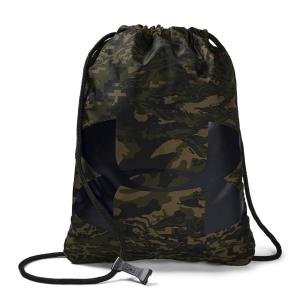 Under Armour Tennis Bag Under Armour OzSee Sackpack  Artillery Green/Black 12405390357