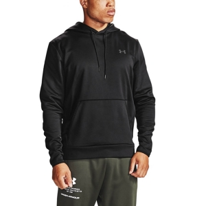 Men's Tennis Shirts and Hoodies Under Armour Solid Hoodie  Black 13570870001