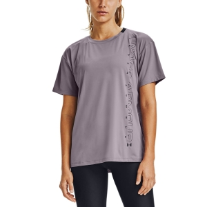 Camisetas y Polos de Tenis Mujer Under Armour Sport Graphic Camiseta  Slate Purple/Black 13563010585