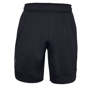 Men's Tennis Shorts Under Armour Training Stretch 9in Shorts  Black/Pitch Grey 13568580001