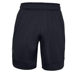 Pantaloncini Tennis Uomo Under Armour Training Stretch 9in Pantaloncini  Black/Pitch Grey 13568580001