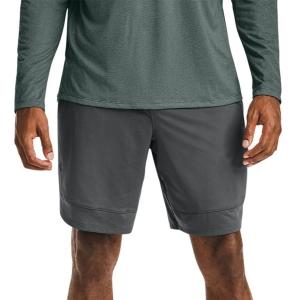 Pantaloncini Tennis Uomo Under Armour Training Stretch 9in Pantaloncini  Pitch Gray/Black 13568580012