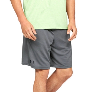 Men's Tennis Shorts Under Armour Tech Mesh 9in Shorts  Pitch Gray/Black 13287050012