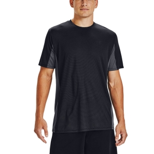 Camisetas de Tenis Hombre Under Armour Training Vent Camiseta  Black 13567850001