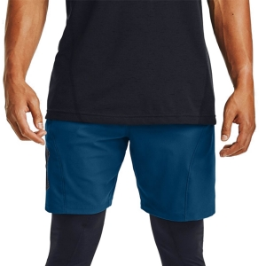 Men's Tennis Shorts Under Armour Vanish Woven Graphic 8in Shorts  Graphite Blue/Black 13516640581