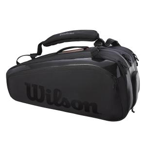 Tennis Bag Wilson Super Tour Pro Staff x 15 Bag  Black WR8010401