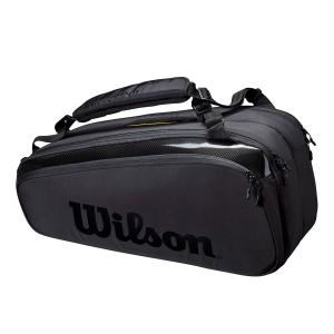 Tennis Bag Wilson Super Tour Pro Staff x 9 Bag  Black WR8010601