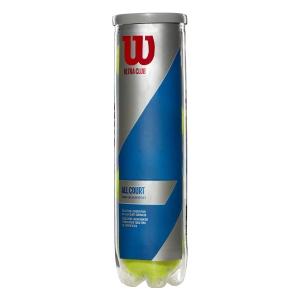 Pelotas Tenis Wilson Wilson Ultra Club All Court  Tubo de 4 Pelotas WRT116000