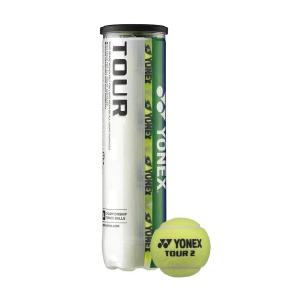 Yonex Tennis Balls Yonex Tour  4 Balls Can TBTR4
