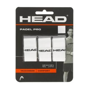 Accessori Padel Head Padel Pro Overgrip x 3  White 285111 WH