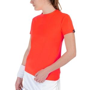 Camisetas y Polos de Tenis Mujer Joma Torneo Classic Camiseta  Coral Fluor 901332.040