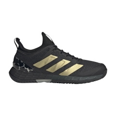adidas Adizero Ubersonic 4 - Carbon/Gold Met/Core Black
