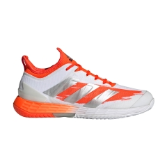 adidas Adizero Ubersonic 4 - Ftwr White/Silver Met/Solar Red
