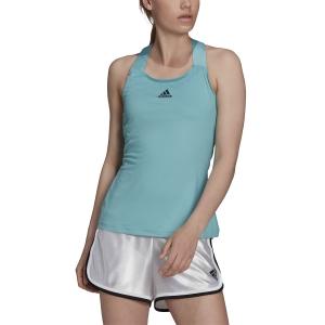 Women`s Tennis Tanks adidas AEROREADY Tank  Mint Ton/Black H45390