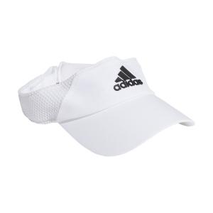 Tennis Hats and Visors Adidas AEROREADY Visor  White/Black GM4520