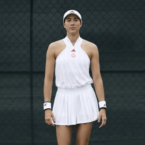 Adidas All In One Dress - White/Scarlet