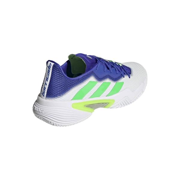 adidas Barricade - Ftwr White/Screaming Green/Sonic Ink