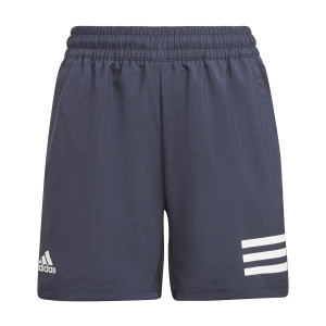 Pantalones Cortos  y Pantalones Boy adidas Club 3Stripe 7in Shorts Nino  Legend Ink/White H34767
