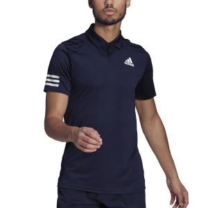 Men's Tennis Polo adidas Club 3 Stripes Polo  Legend Ink/White H34701