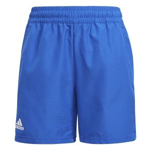 Pantalones Cortos  y Pantalones Boy adidas Club 7in Shorts Nino  Bold Blue/White H34766