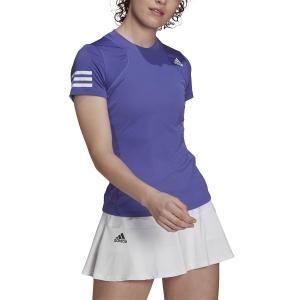 Women`s Tennis T-Shirts and Polos adidas Club AEROREADY TShirt  Purple/White GL5801