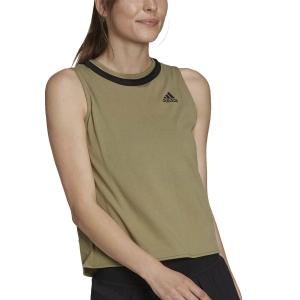 Women`s Tennis Tanks adidas Club Tank  Orbit Green/Black H33704