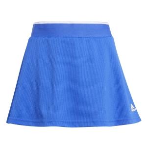 Gonne e Pantaloncini Girl adidas Club Logo Gonna Bambina  Bold Blue/White H34779