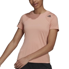 adidas Club T-Shirt - Ambient Blush/Black