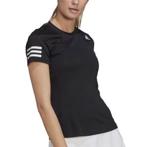 Camisetas y Polos de Tenis Mujer adidas Club Camiseta  Black/White GL5530