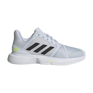 Scarpe Tennis Donna Adidas CourtJam Bounce Clay  Ftwr White/Core Black/Halo Blue GZ3476